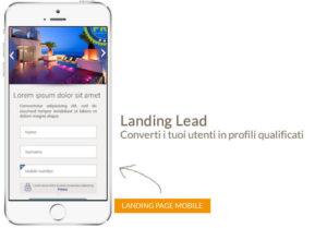 Landing Lead converti i tuoi utenti in profili qualificati
